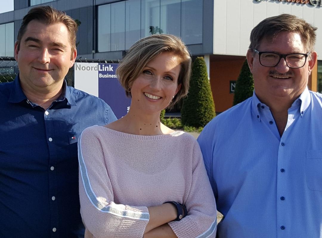 Kris Vanden Boer, Valérie van Gastel en Frank Swinnen willen Lommel opnieuw volop laten ondernemen.